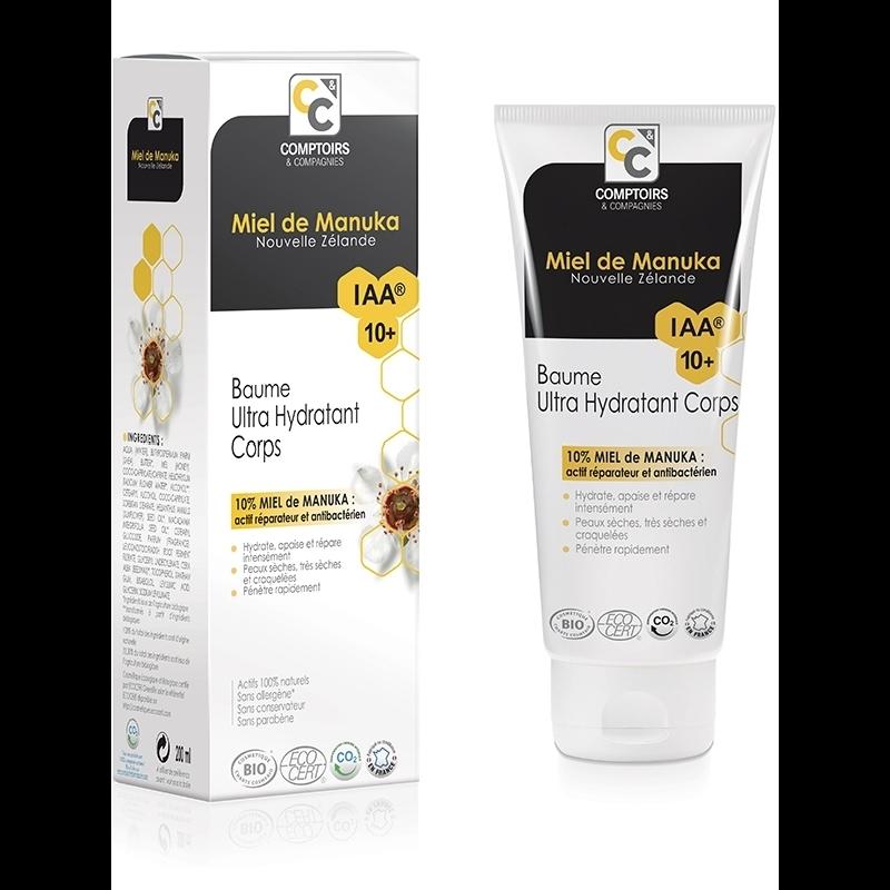 Baume ultra hydratant Bio 10 % miel de manuka IAA10+ - 200 ml - COMPTOIRS&COMPAGNIES