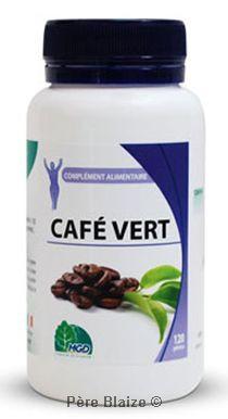 Cafevert (graine, coffea arabica) - 120 gél - MGD
