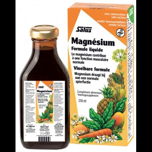 Magnésium forme Liquide - 250 ml - SALUS