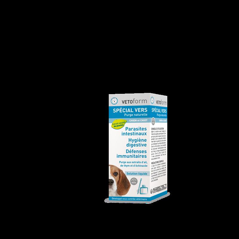 Purge naturelle spécial vers chien - 50 ml - VETOFORM