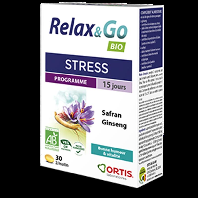 Relax & go - 30 comprimés - ORTIS