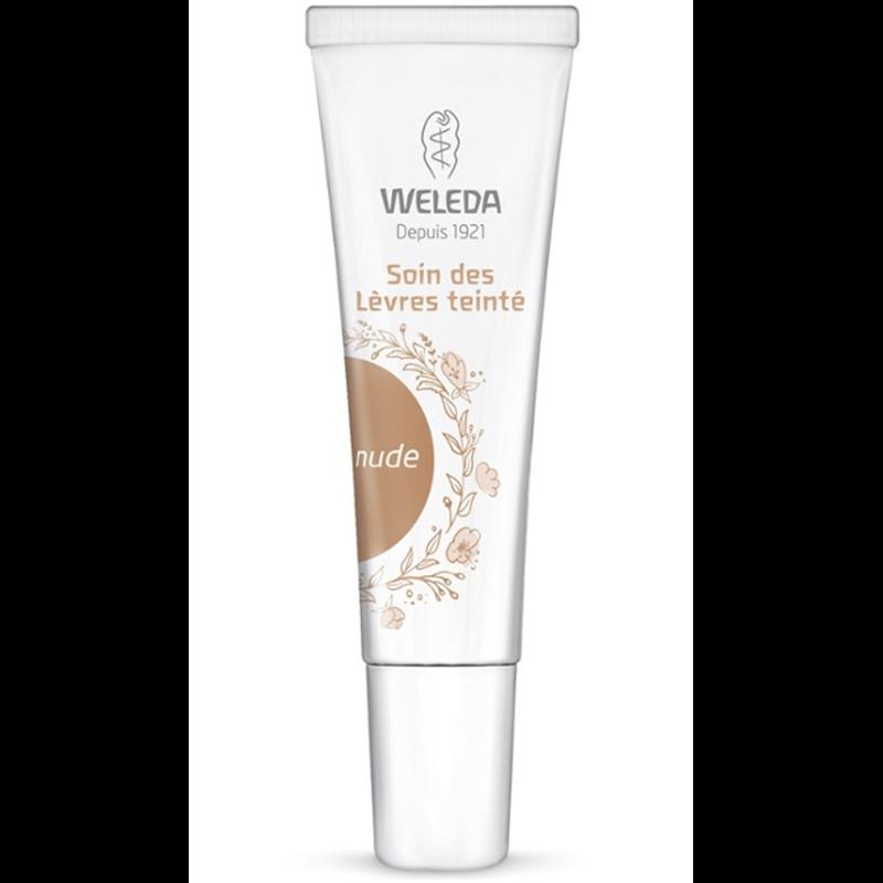 Soin des lèvres teinte nude - 10 ml - WELEDA