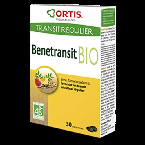 Benetransit regulier BIO (transit paresseux) - 30 comprimés - ORTIS