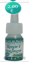 Dermofluide - sport & voyage dose 3ml