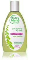 Shampooing au thym anti-séborrhéique - 200 ml - MARTINE MAHE