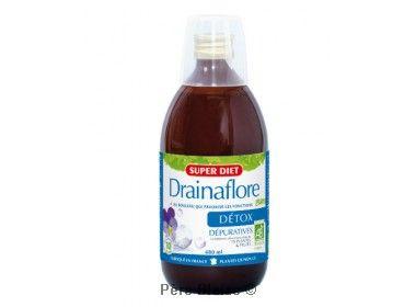 Drainaflore boisson BIO - 480 ml - LABORATOIRES SUPERDIET