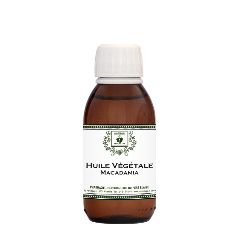 Huile végétale Macadamia BIO - Père Blaize