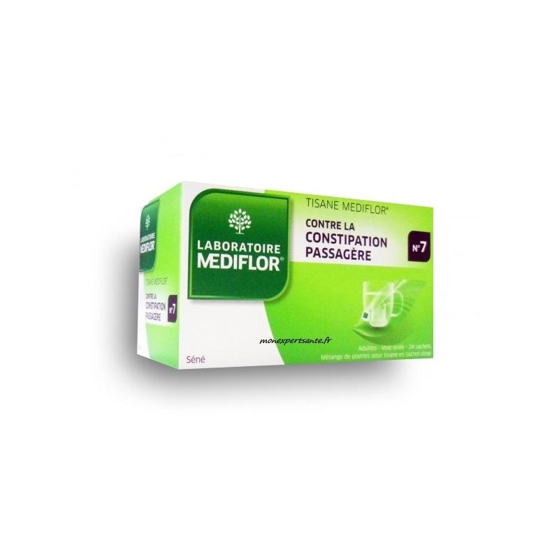 Tisane Mediflor N°7 - Constipation - 24 sachets - LABORATOIRE MEDIFLOR
