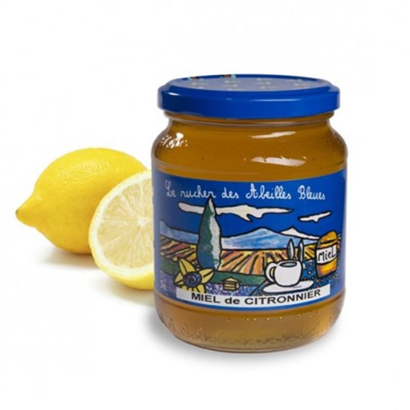 Miel de citronnier - 500 g - LE RUCHER DES ABEILLES BLEUES - AUGIER MIEL