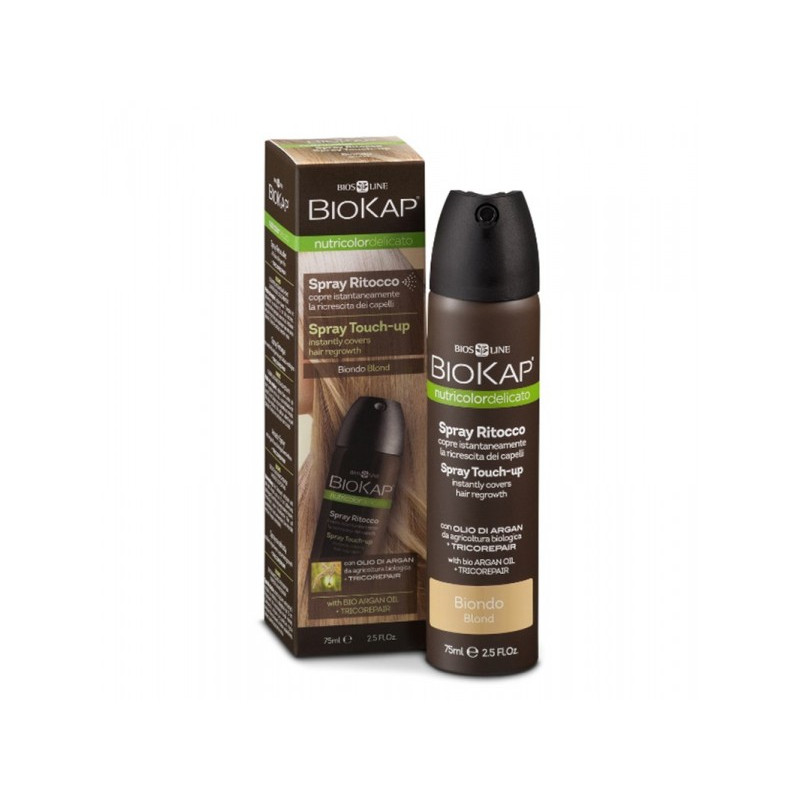 Nutricolor delicato - Spray retouche blond clair - 75 ml - BIOKAP