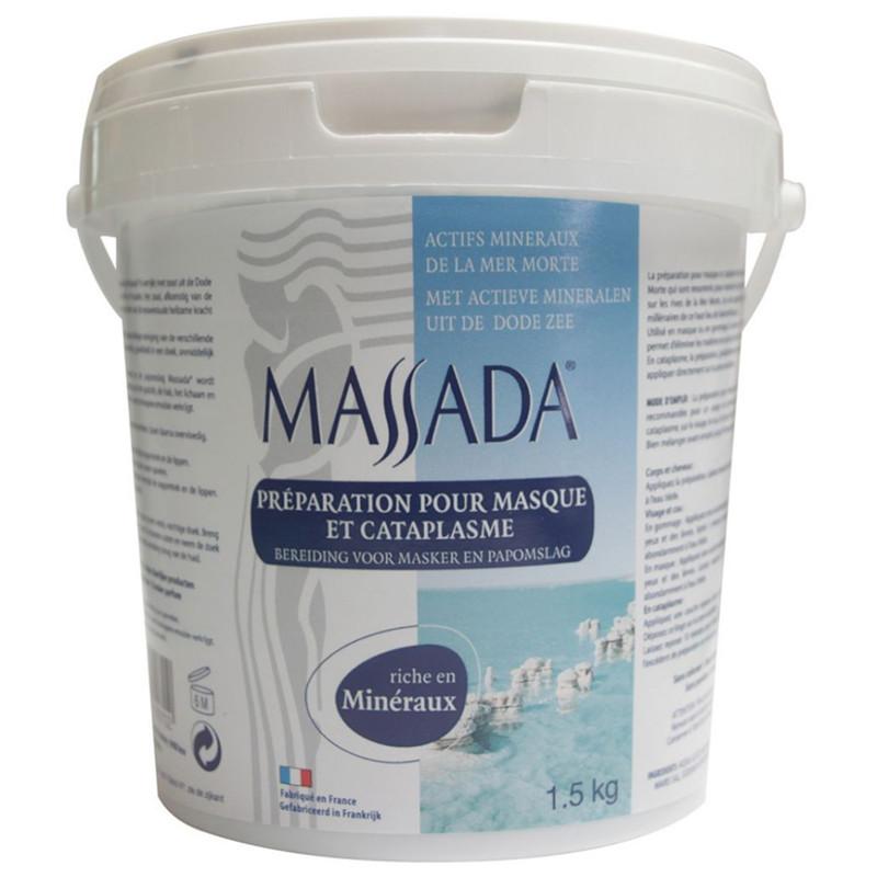 Préparation pour masque et cataplasme - 1,5 kg - MASSADA