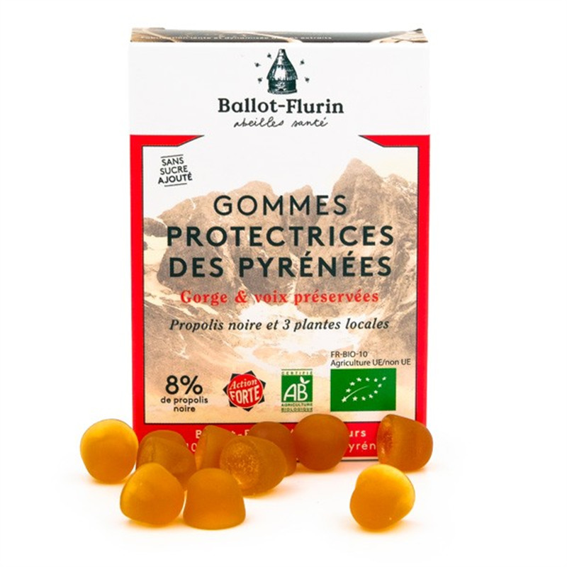 Gommes protectrices des Pyrénées - boite 30 g - BALLOT-FLURIN