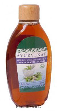Gel douche ayurvedique aux 18 plantes actives - 200 ml - OLEANAT