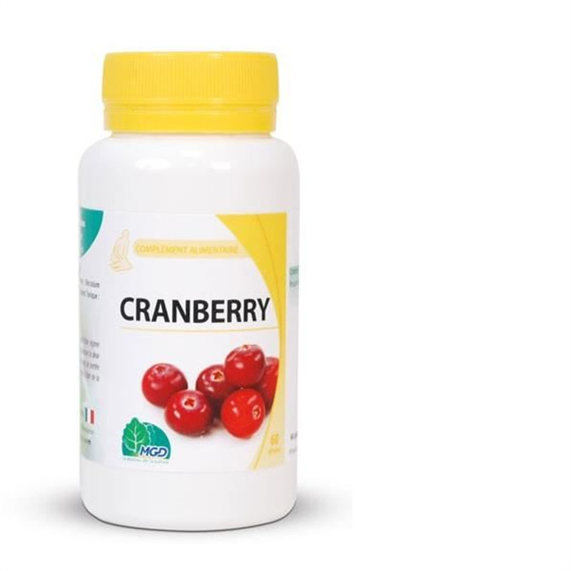 Cranberry (fruit, vaccinium macrocarpon) - 60 gel - MGD