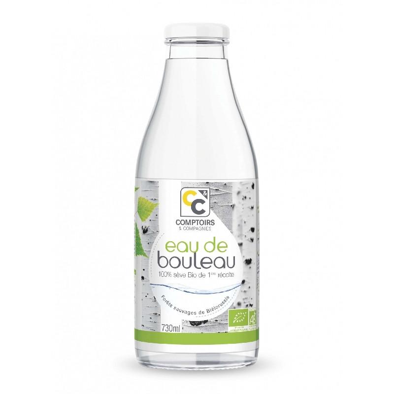 Eau de bouleau Bio (sève) - 730 ml - COMPTOIRS&COMPAGNIES