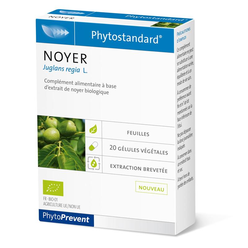 Noyer - 20 gél - PHYTOSTANDARD - LABORATOIRE PILEJE