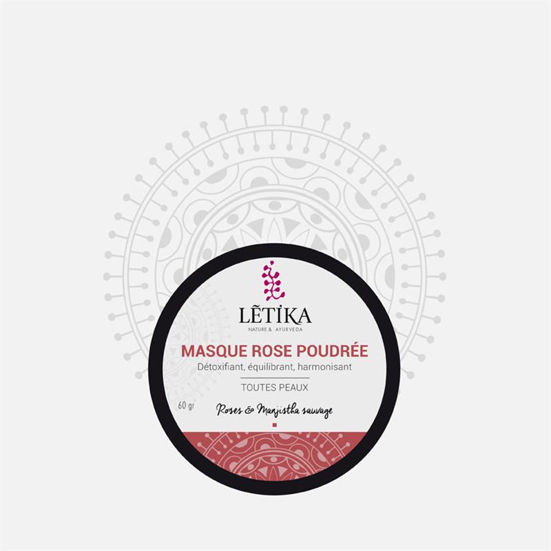 Masque roses poudrées - 60 g - LETIKA