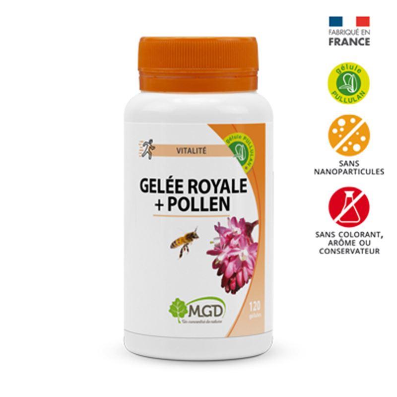 Gelee royale + Pollen - 120 gel - MGD