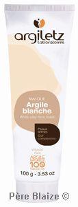 Masque argile blanche P.A.E. - 100 g - ARGILETZ