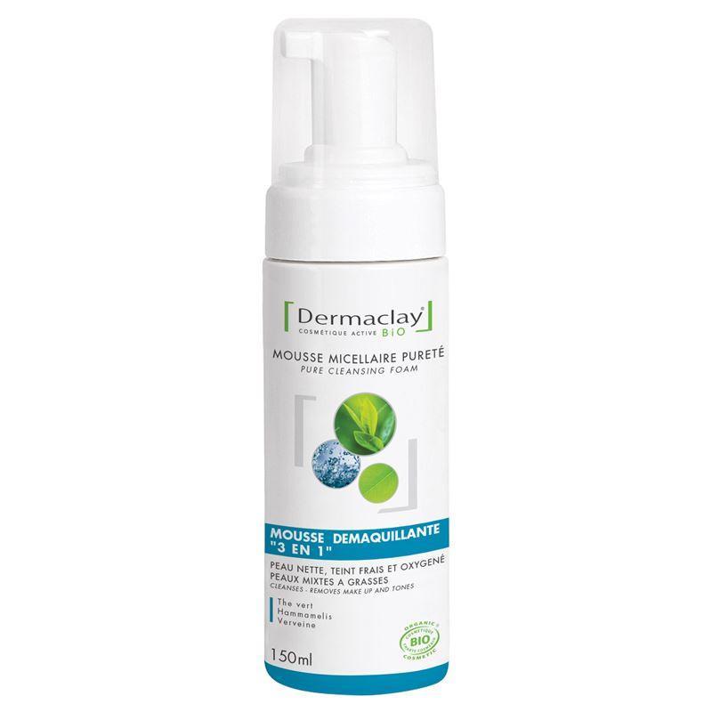 Mousse micellaire purete Bio - 150 ml - DERMACLAY