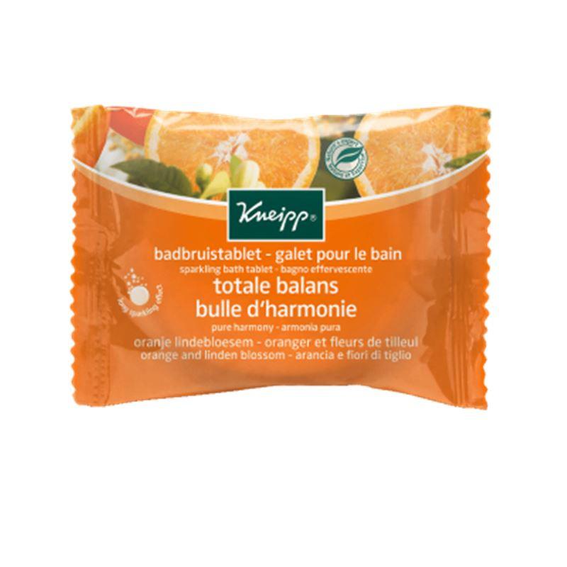 Galet pour le Bain - Fleurs de Tilleul / Oranger (Bulle d'Harmonie) - 80g - KNEIPP