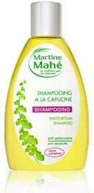 Shampooing à La capucine anti-pellicule - 200 ml - MARTINE MAHE