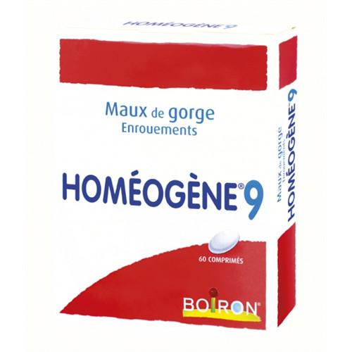Homeogene 9 - 60 comprimés - BOIRON