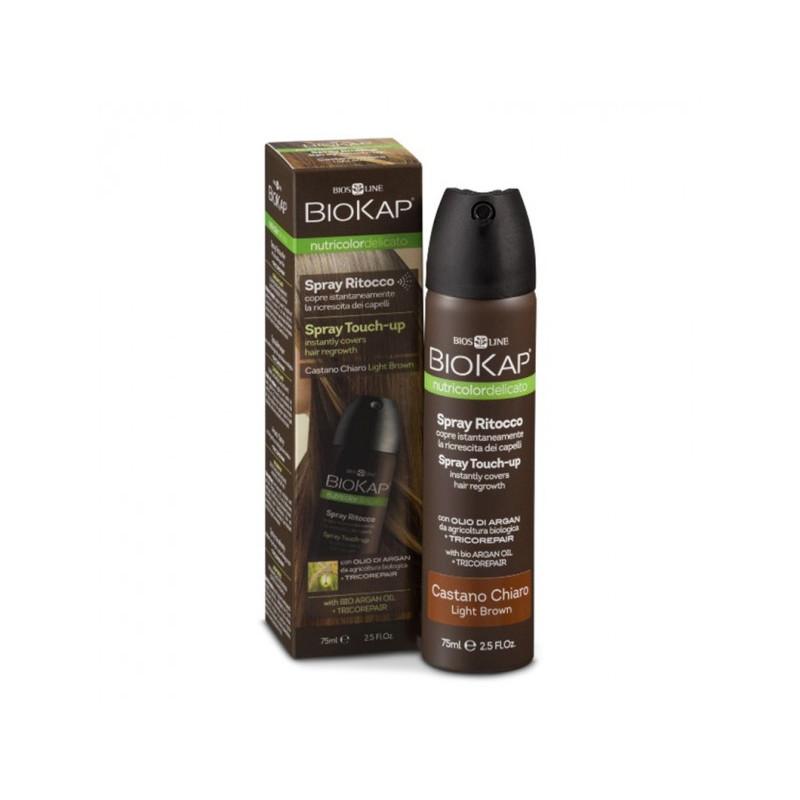 Nutricolor delicato - Spray retouche chatain clair - 75 ml - BIOKAP
