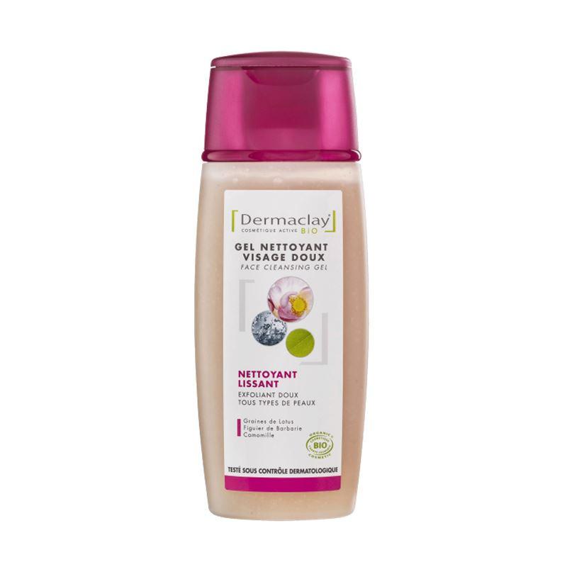 Gel nettoyant visage BIO - 100 ml - DERMACLAY
