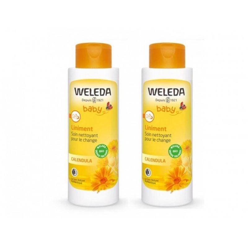 Liniment Bio au calendula Duo (-50% sur le 2ème) - 2 X 400 ml - WELEDA