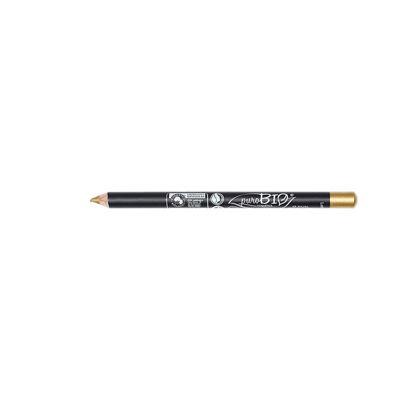 Crayon pour Les yeux  45 - kajal doré - 1,3 g - PUROBIO COSMETICS