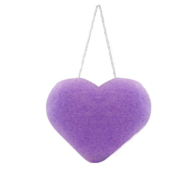 I Love k, éponge konjac visage à La violette - INDEMNE