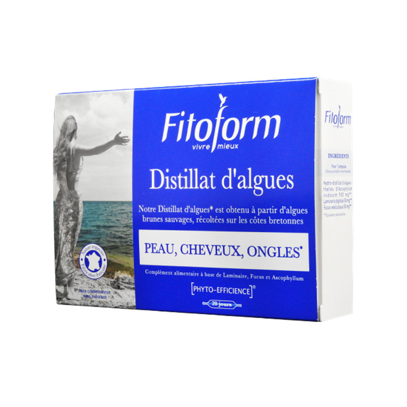 Distillat d'algues - 20 amp x 10 ml - FITOFORM