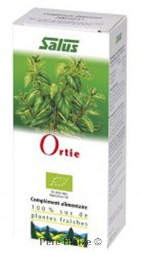 Ortie - suc de plantes fraîches  - 200 ml - SALUS