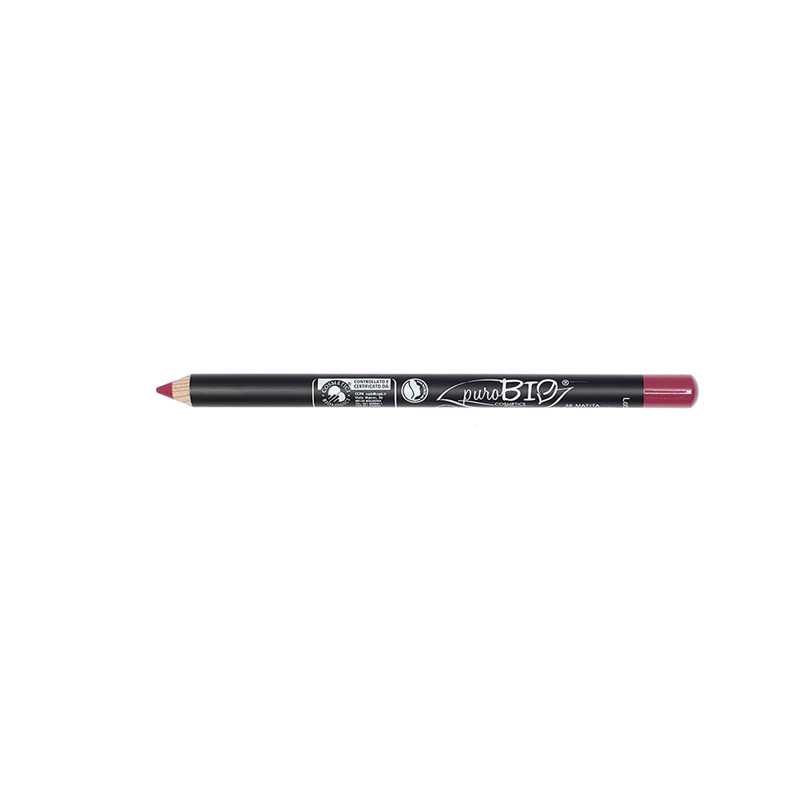 Crayon à Lèvres fin (no vegan) Fraise  38 - 1,3 g - PUROBIO COSMETICS