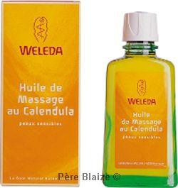 Huile de massage au calendula - 100 ml - Weleda