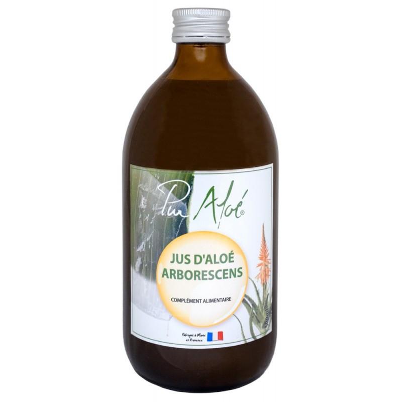 Jus d'aloé Arborescens - 500 ml - PUR ALOE