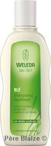 Shampooing équilibrant au blé - 190 ml - WELEDA