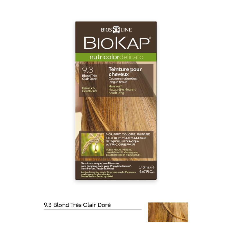Nutricolor delicato - blond très clair doré 9.30 - 140 ml - BIOKAP