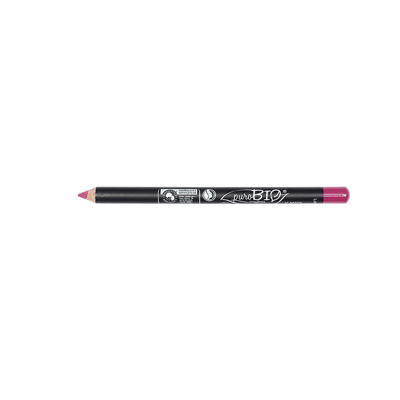 Crayon à Lèvres fin (no vegan) Rose  37 - 1,3 g - PUROBIO COSMETICS