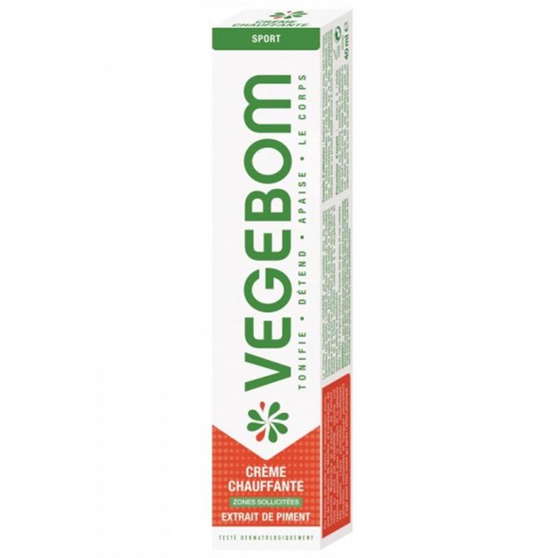 Creme Tonifiante (effet chauffant) - 40 ml - VEGEBOM