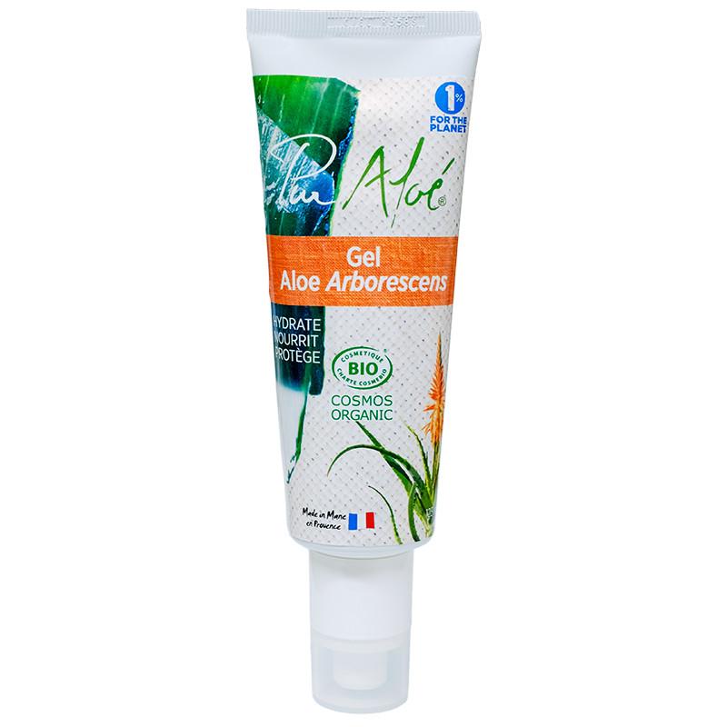 Gel hydratant BIO Aloé arborescens - tube 125 ml - PUR ALOE