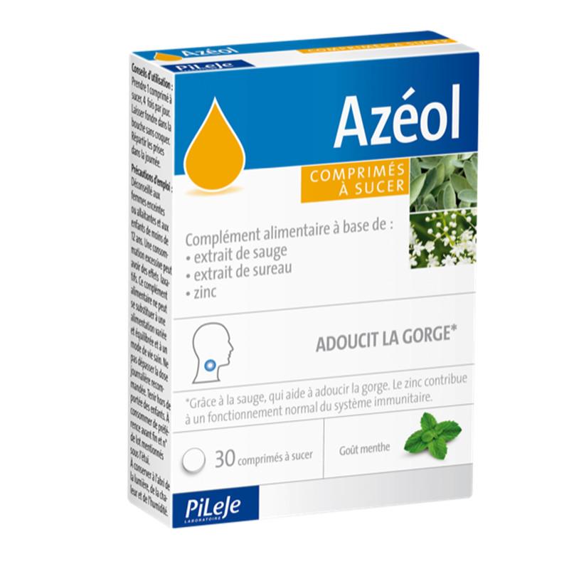 Azéol - 30 comprimés à sucer - LABORATOIRE PILEJE