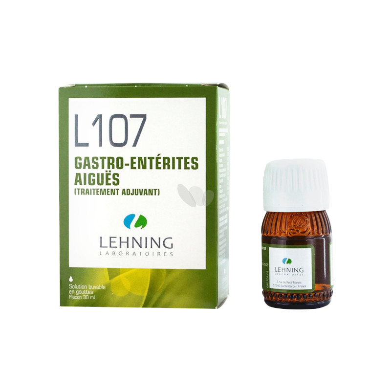 L107 solution buvable en gouttes - 30 ml - LEHNING