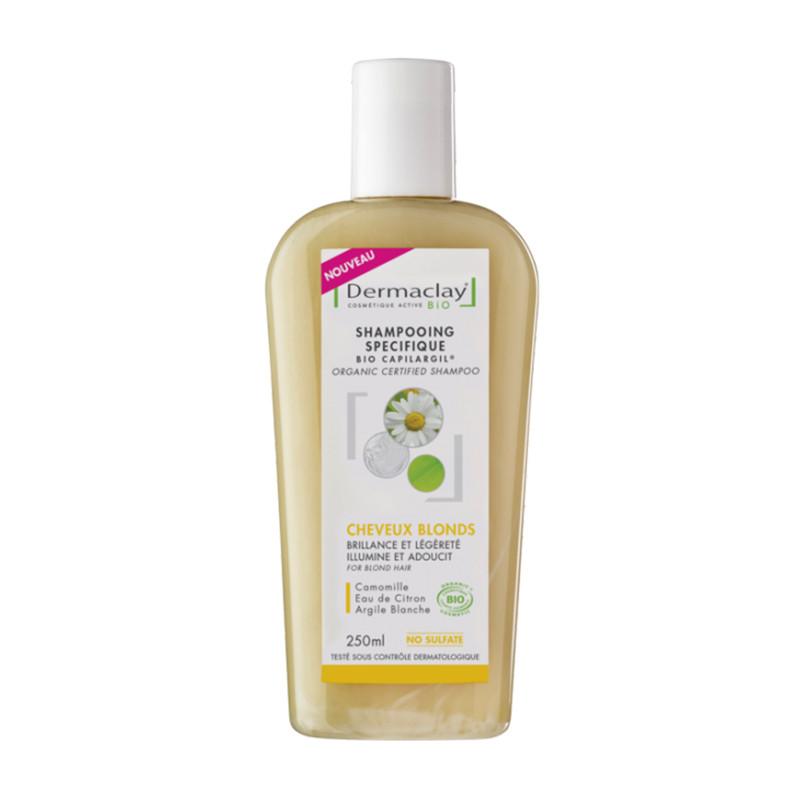 Shampooing BIO cheveux blonds - 250 ml - DERMACLAY