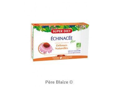 Echinacee BIO - 20 ampoules x 15 ml - LABORATOIRES SUPERDIET