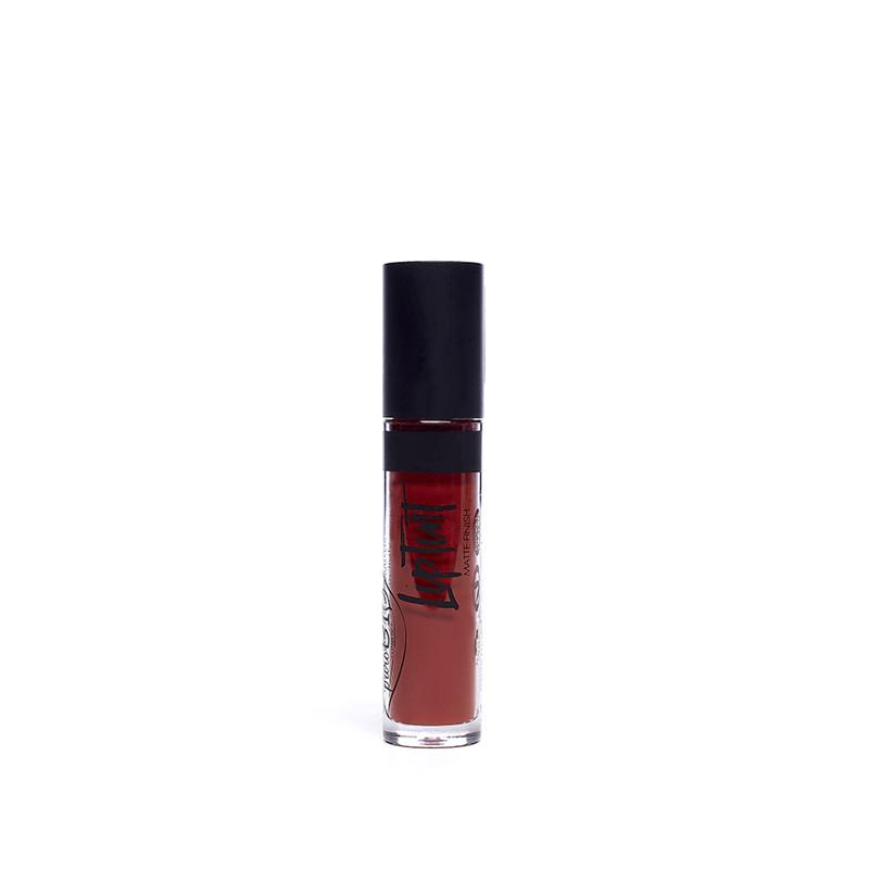 """ENCRE A LEVRES  05 """"Rouge Corail""""- 4 ml - PUROBIO COSMETICS"""