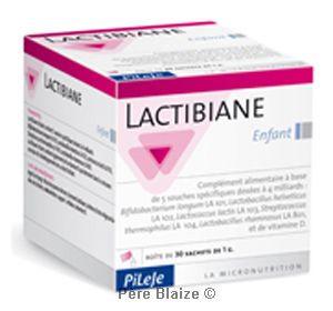 Lactibiane enfant - 10 sachets de 1 g - LABORATOIRE PILEJE