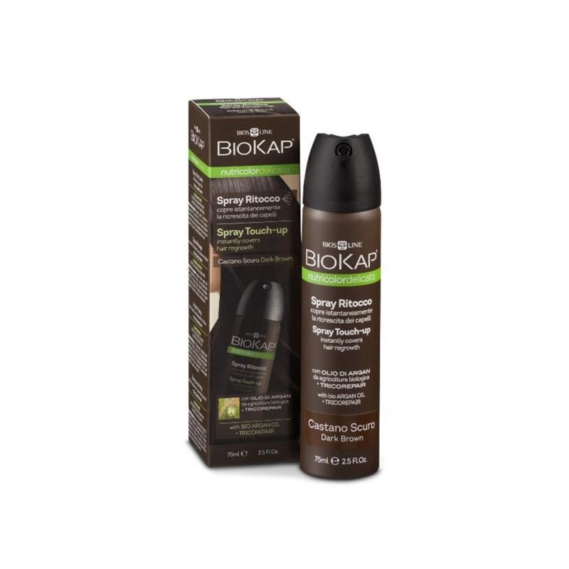 Nutricolor delicato - Spray retouche delicato chatain fonce - 75 ml - BIOKAP