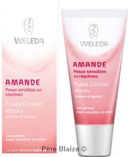 Fluide confort Absolu amande - 30 ml - WELEDA